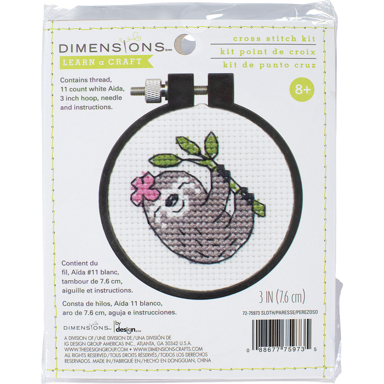 Dimensions Learn a Craft - Sloth