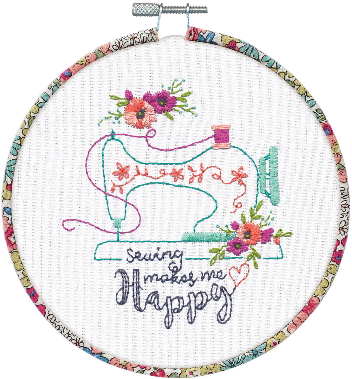 Dimensions Learn a Craft - Sew Happy