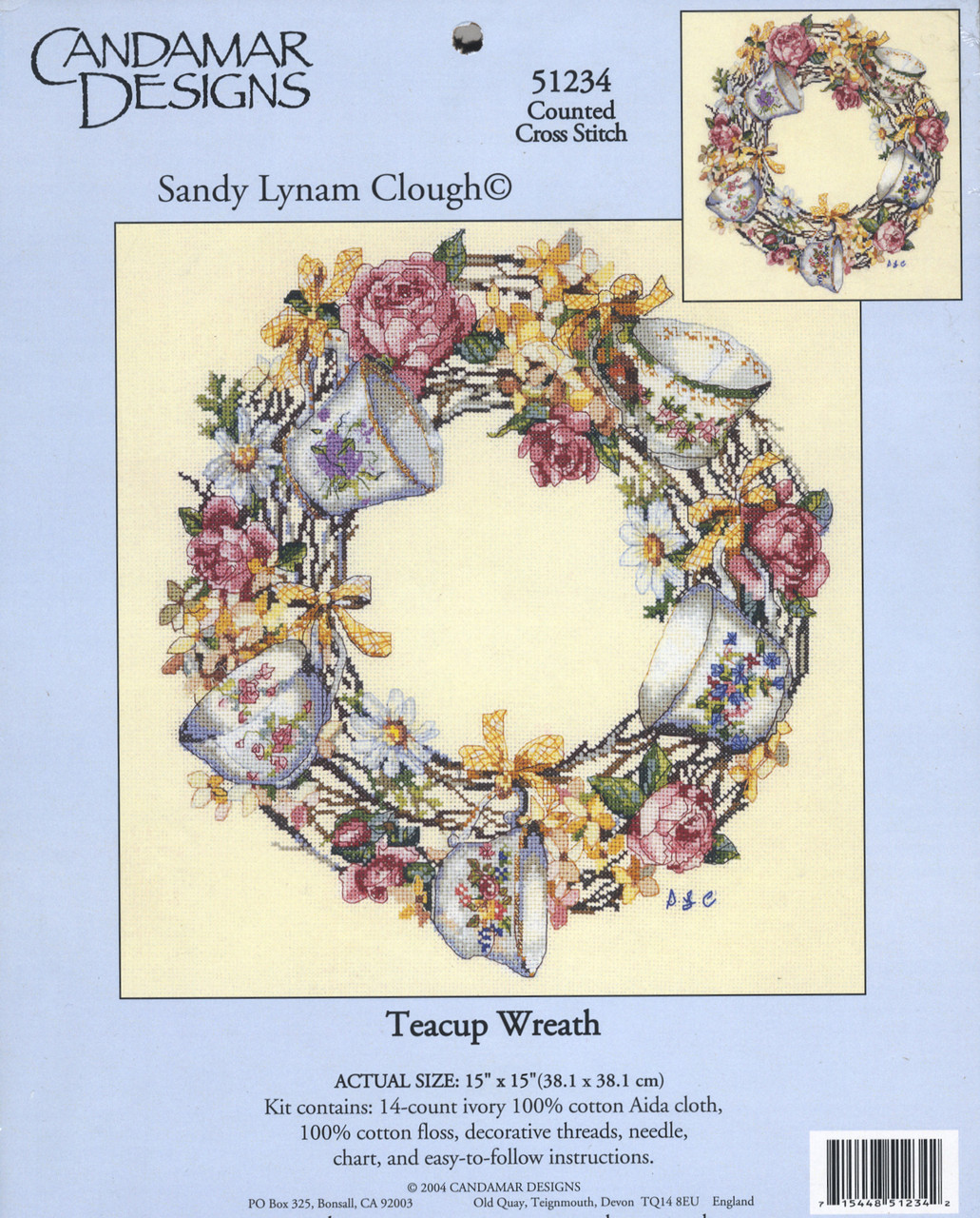Candamar - Teacup Wreath