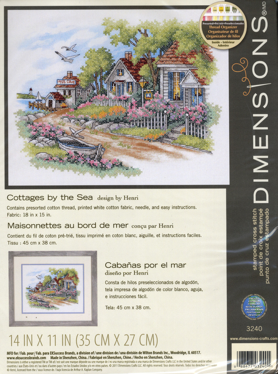 Dimensions - Cottages by the Sea
