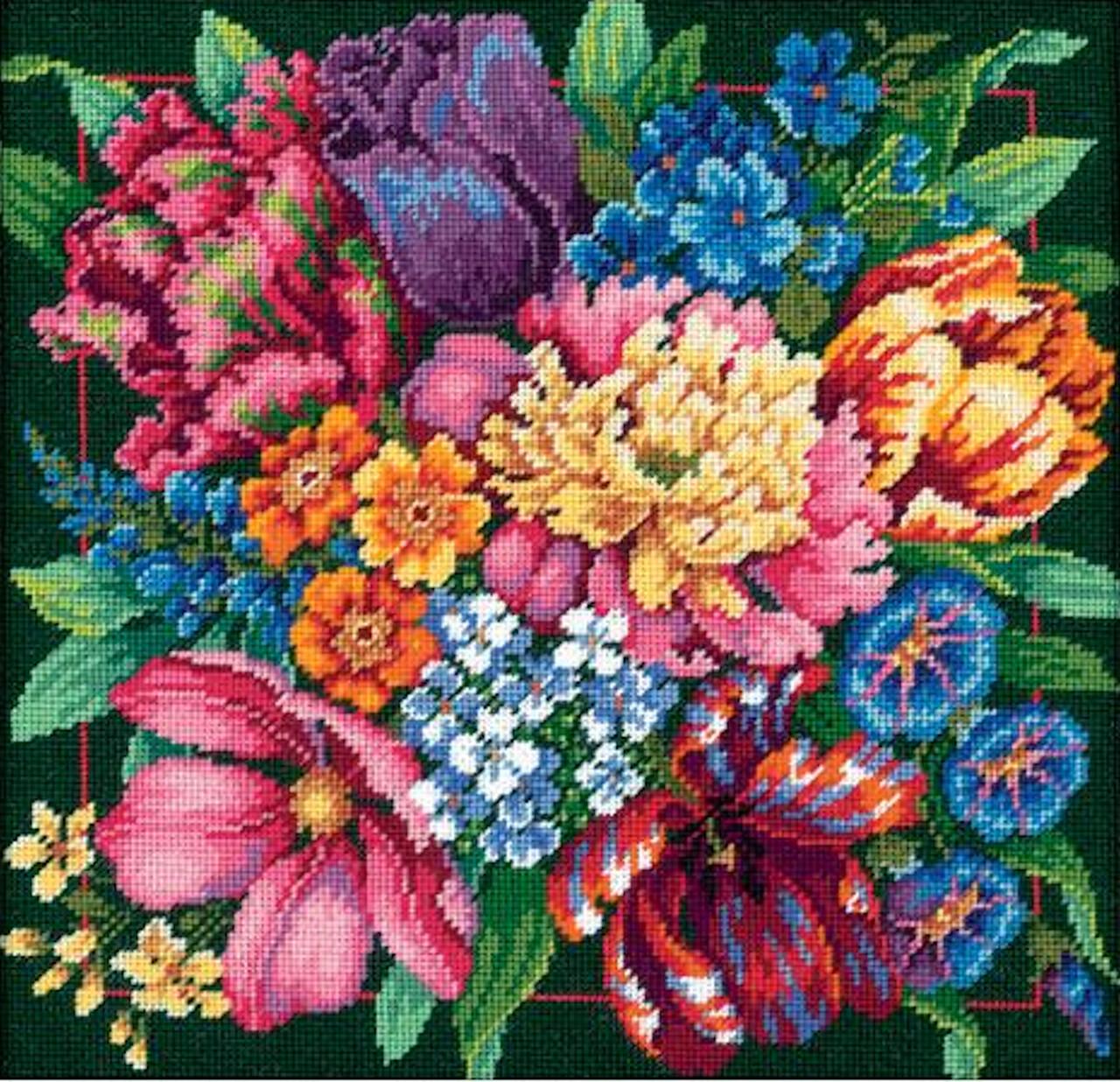 Dimensions -  Floral Splendor