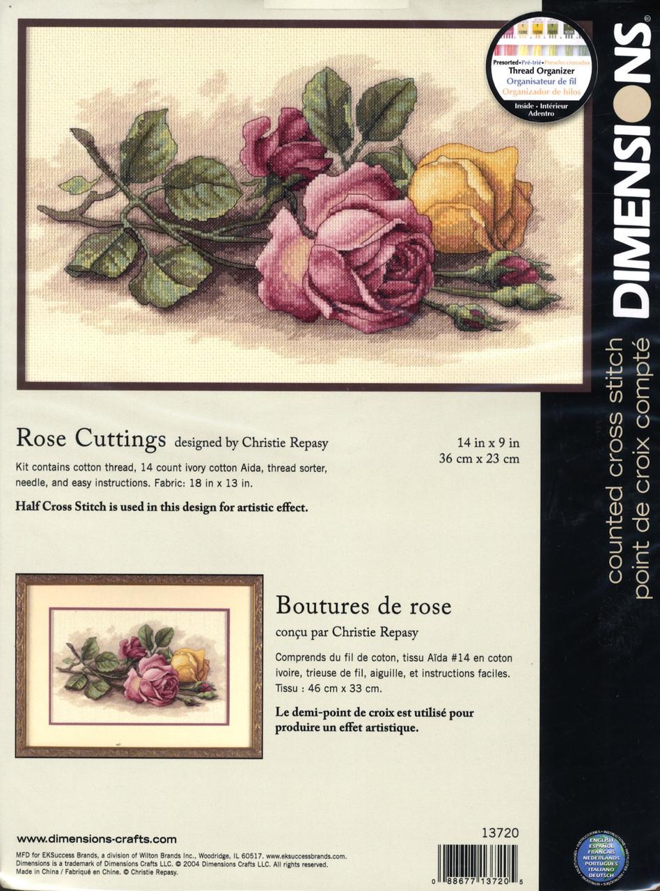 Dimensions - Rose Cuttings