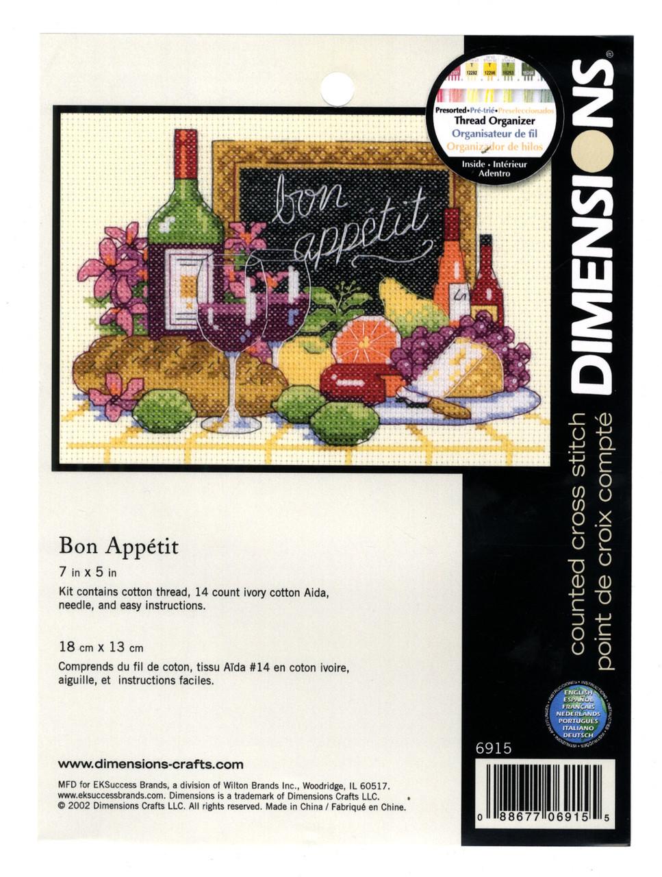 Dimensions Minis - Bon Appetit