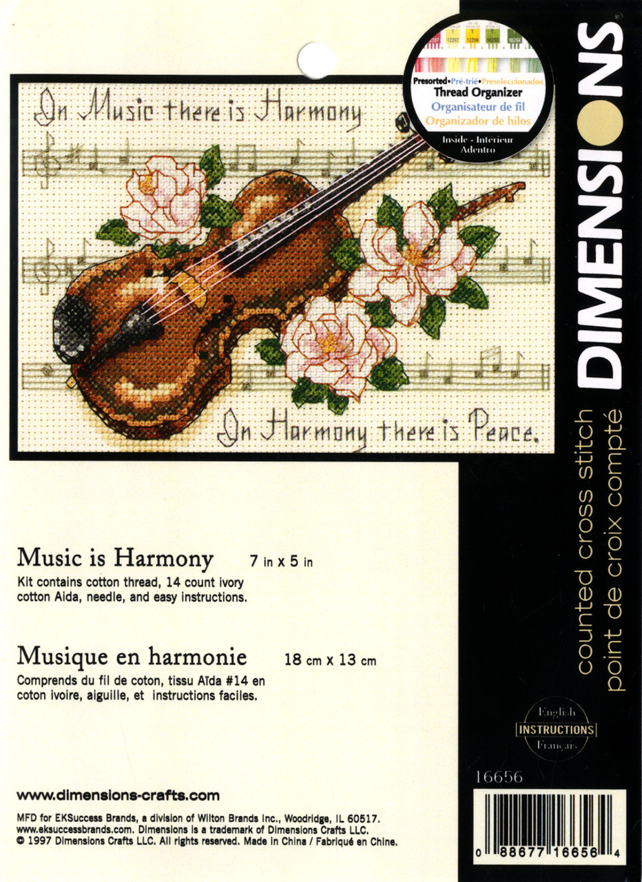 Dimensions Minis - Music Is Harmony