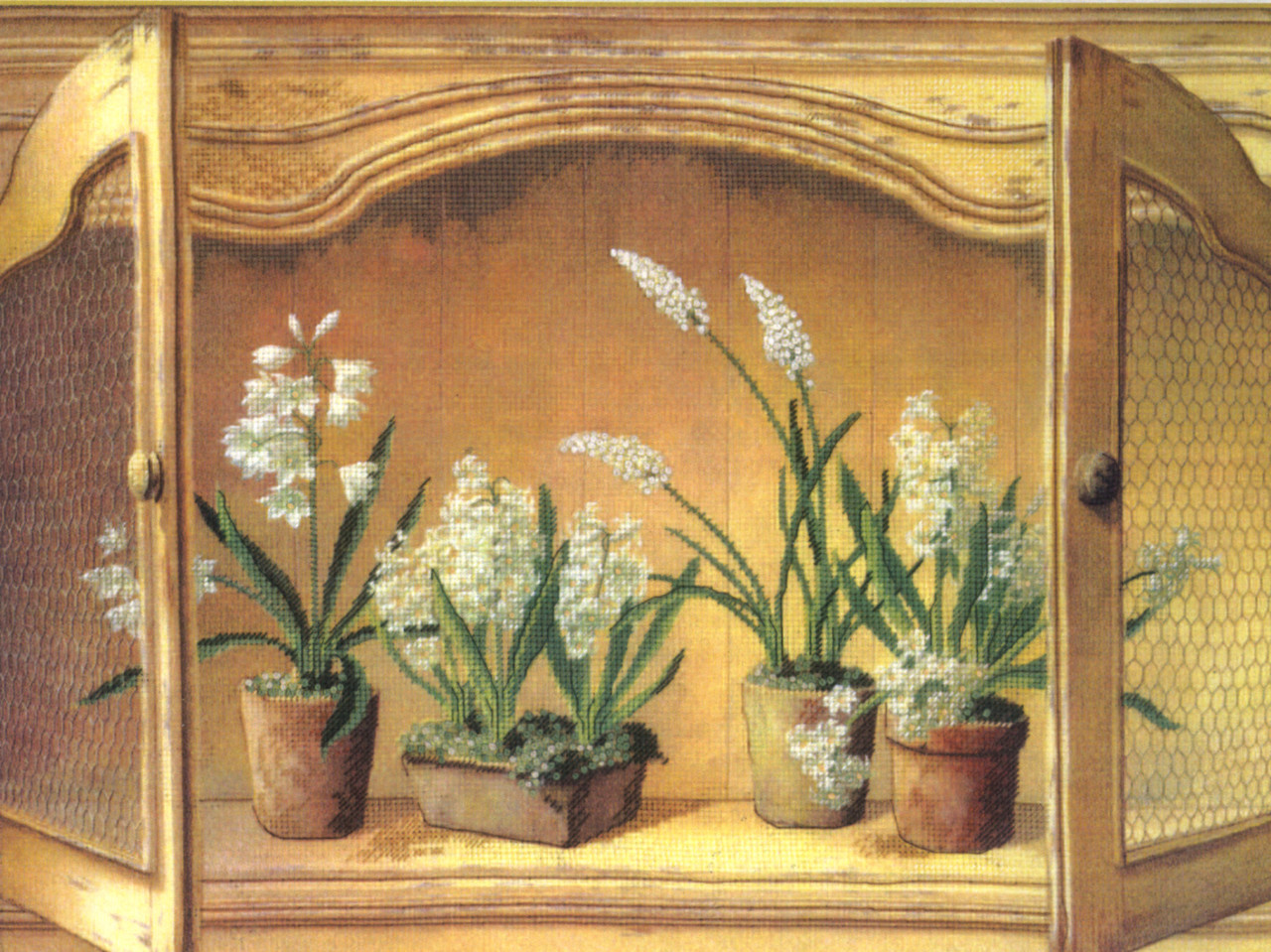 Candamar - French Cupboard - Hyacinths