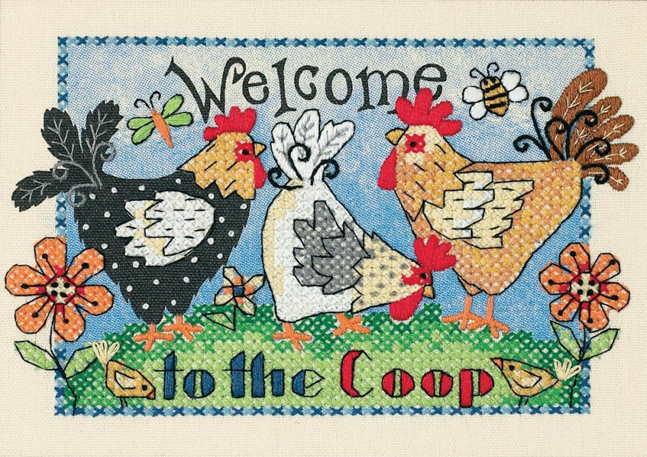 Dimensions Minis - Welcome to the Coop
