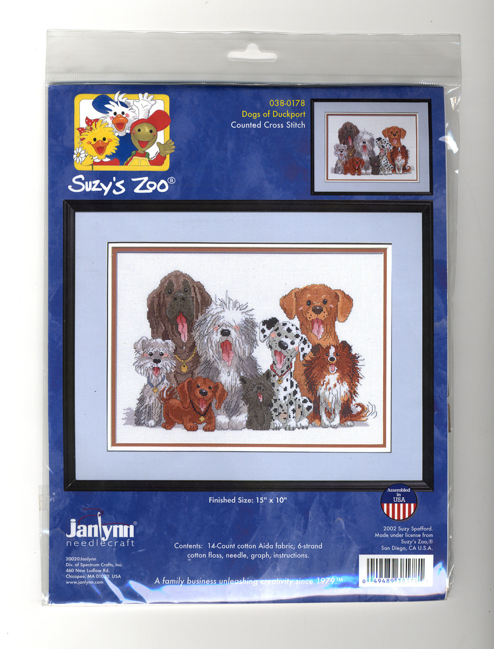 Janlynn - Suzy's Zoo Dogs of Duckport
