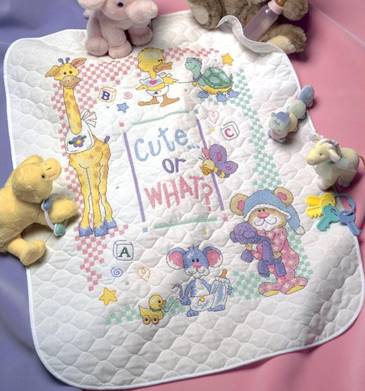 Dimensions Baby Hugs  - Cute or What? Quilt