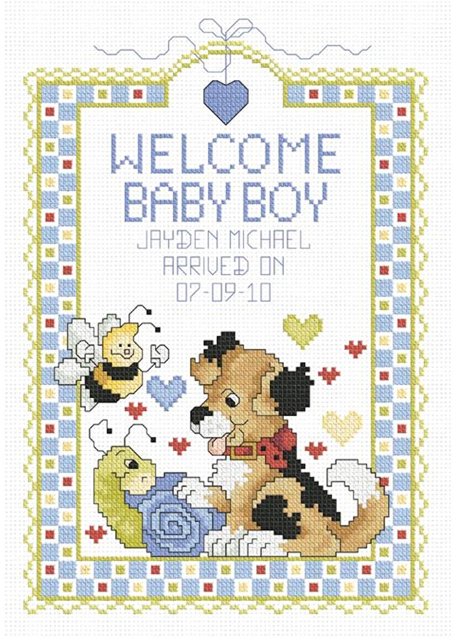 Janlynn - Welcome Baby Boy