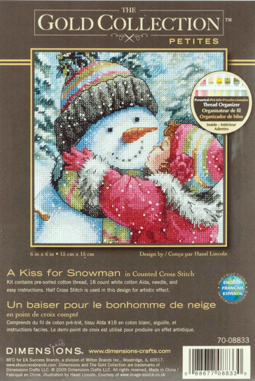 Gold Collection Petites - A Kiss for Snowman