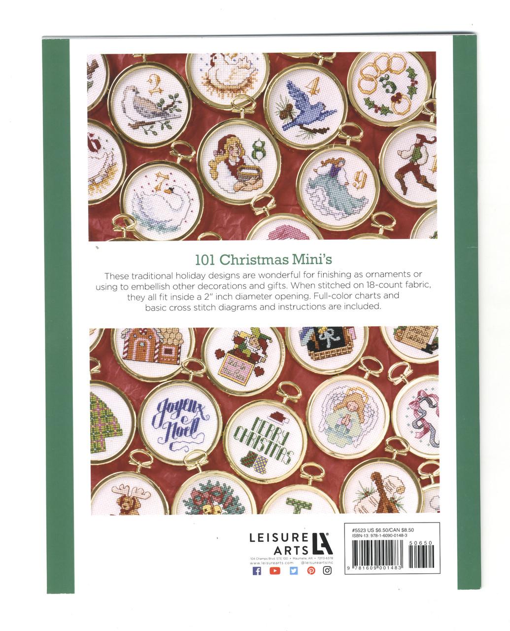 Leisure Arts - 101 Christmas Minis Book 2