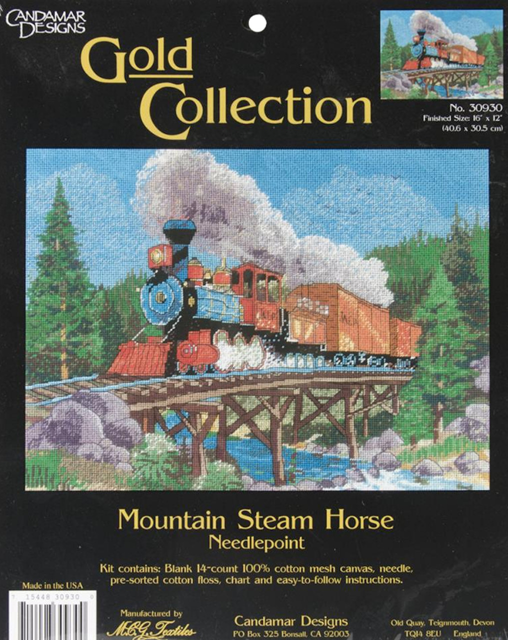 Gold Collection - Mountain Steam Horse
