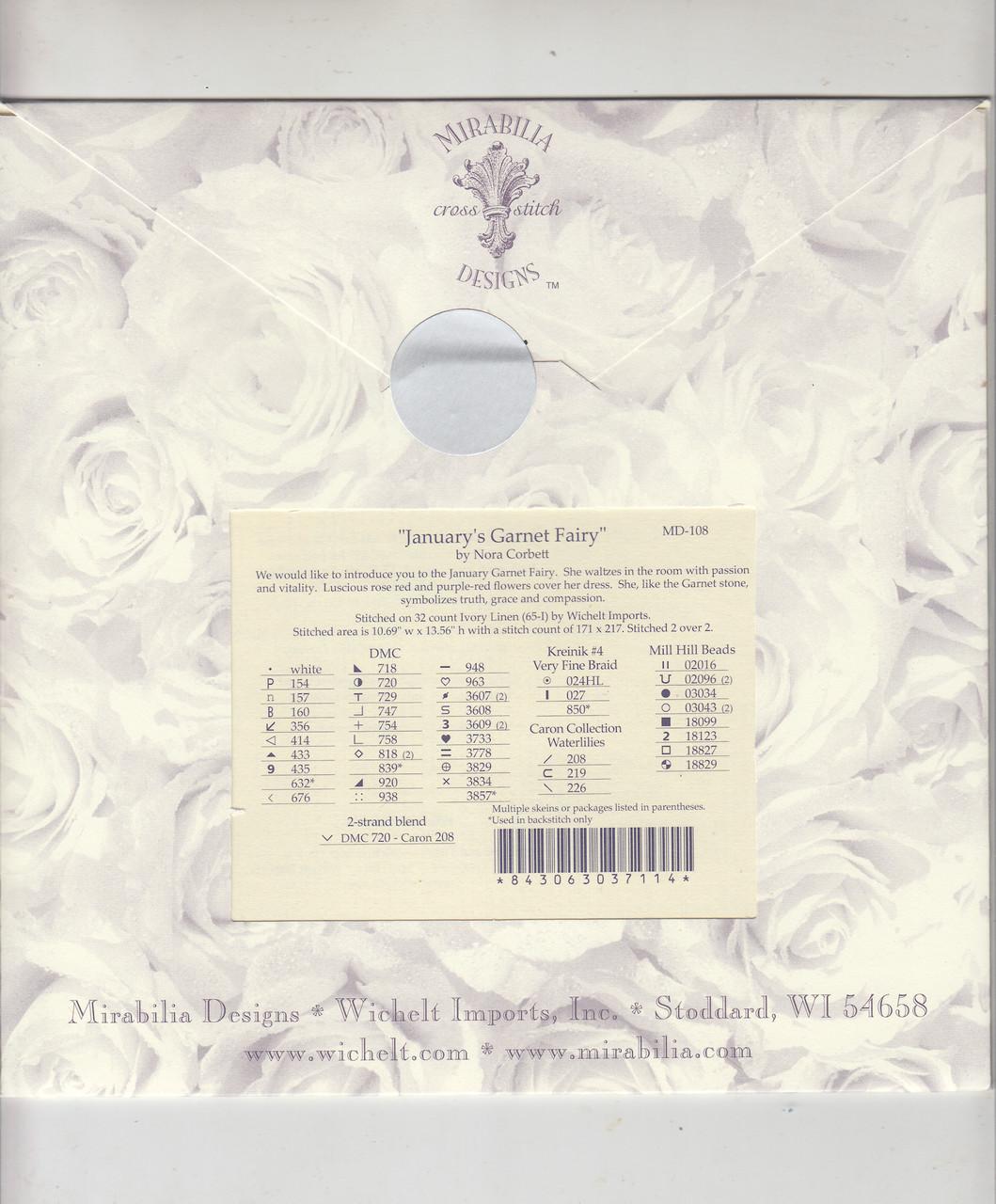 Mirabilia - January's Garnet Fairy