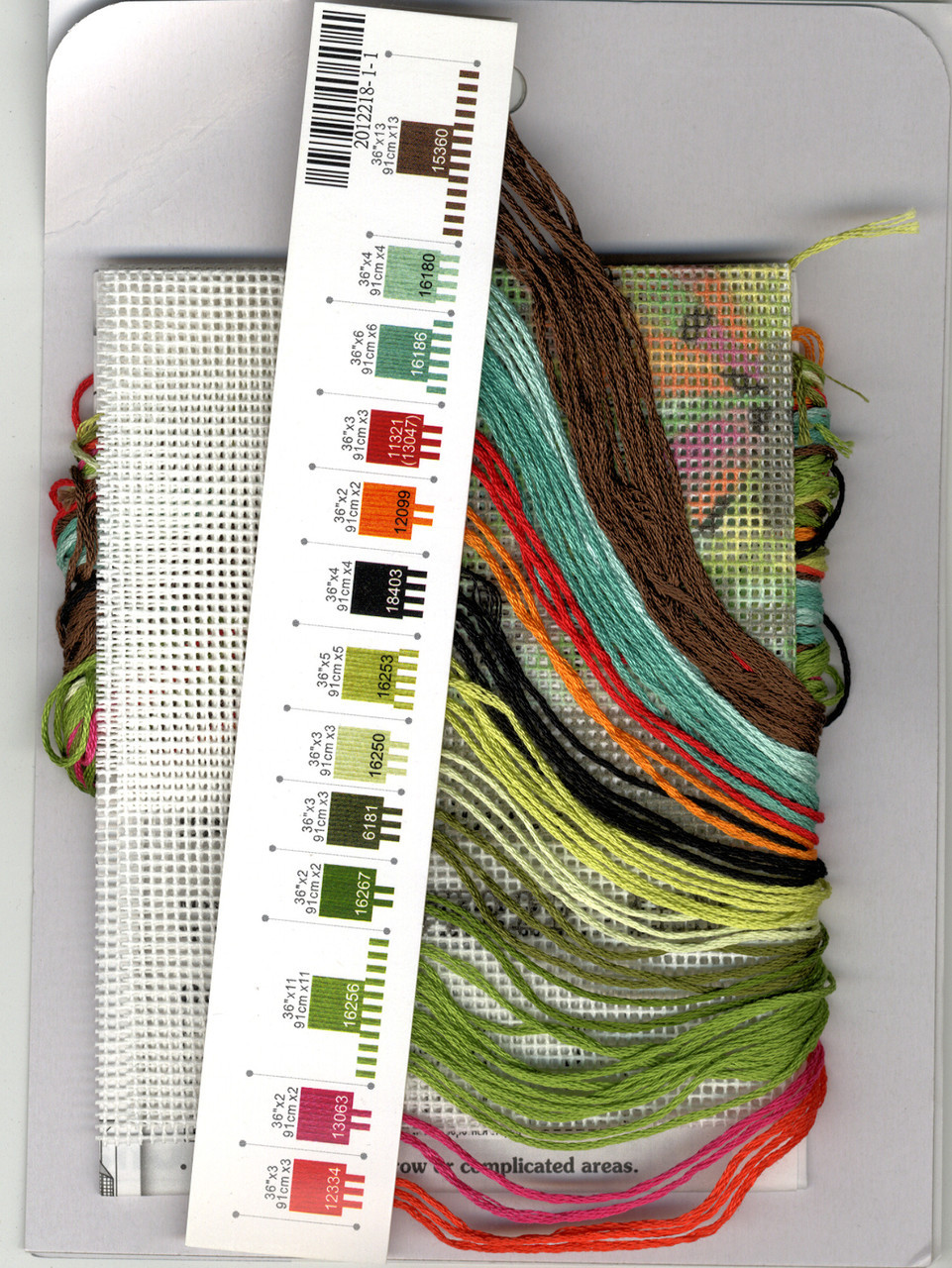 NEW Dimensions Needlepoint Kit Butterfly Impression