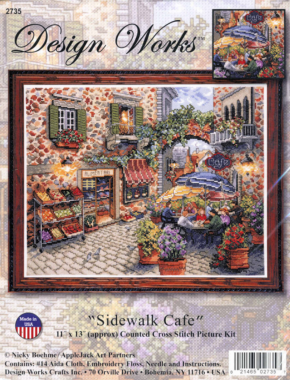 Design Works - Sidewalk Cafe