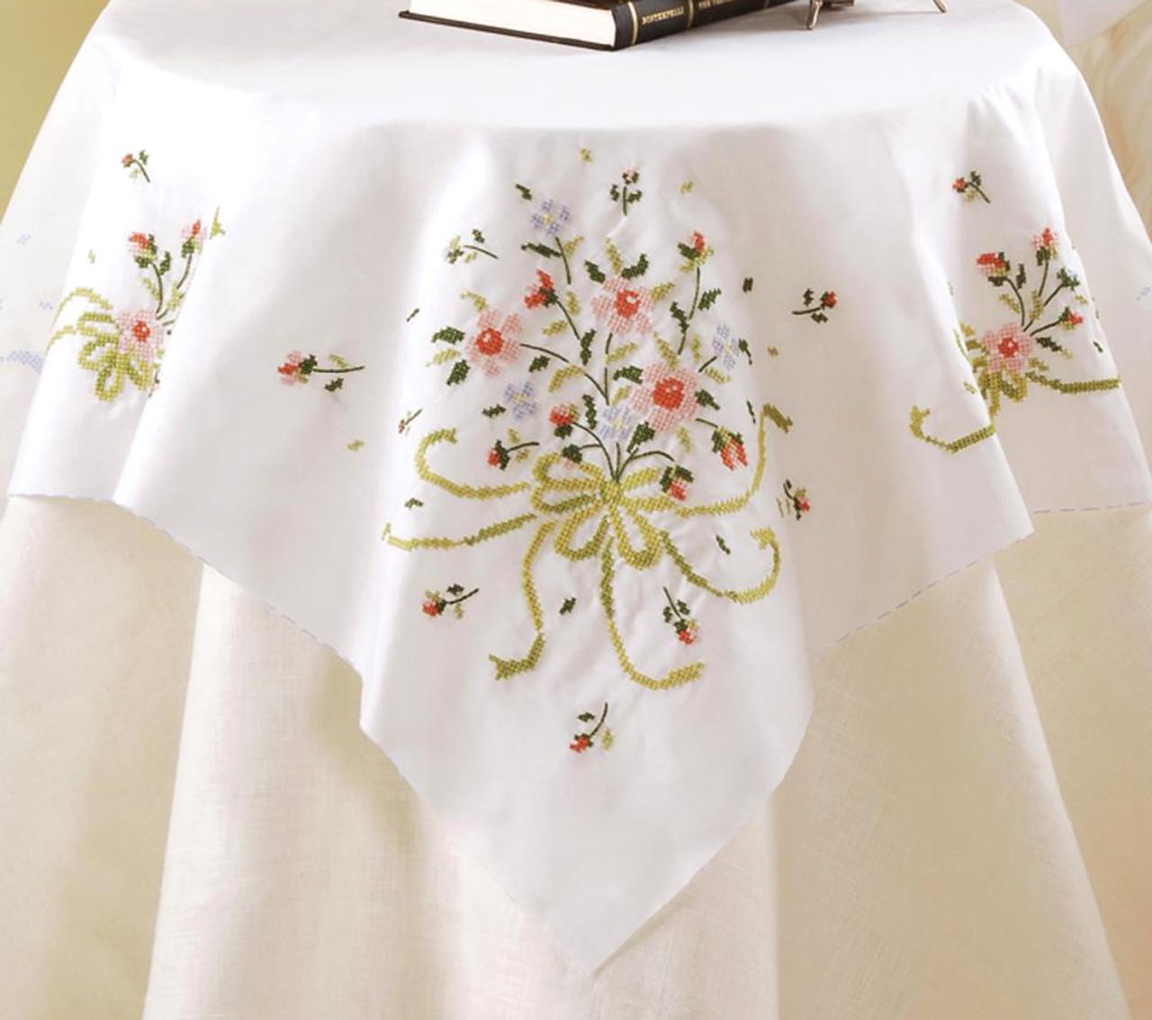 Plaid / Bucilla - Bridal Bouquet Table Topper