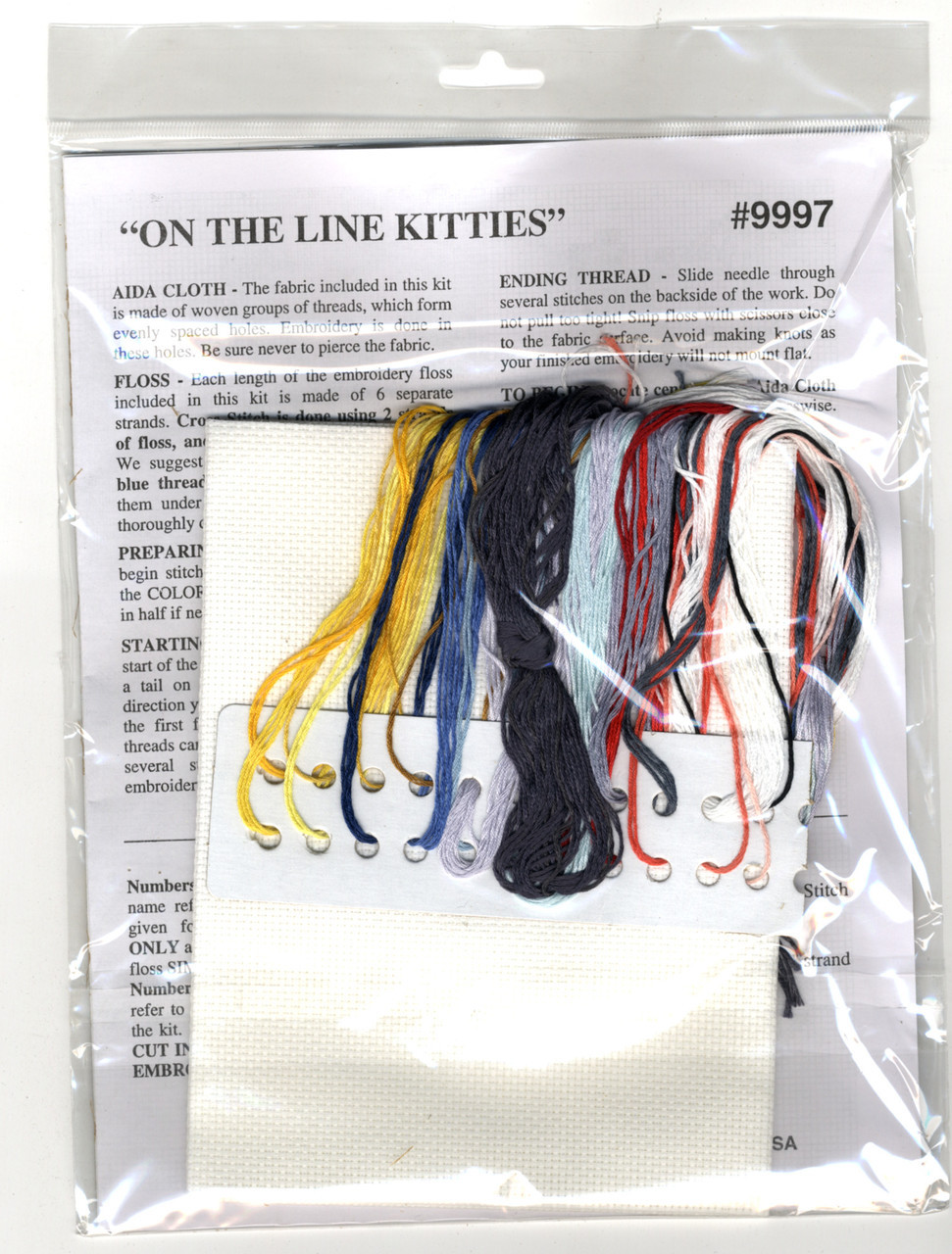 Design Works - On The Line Kittens