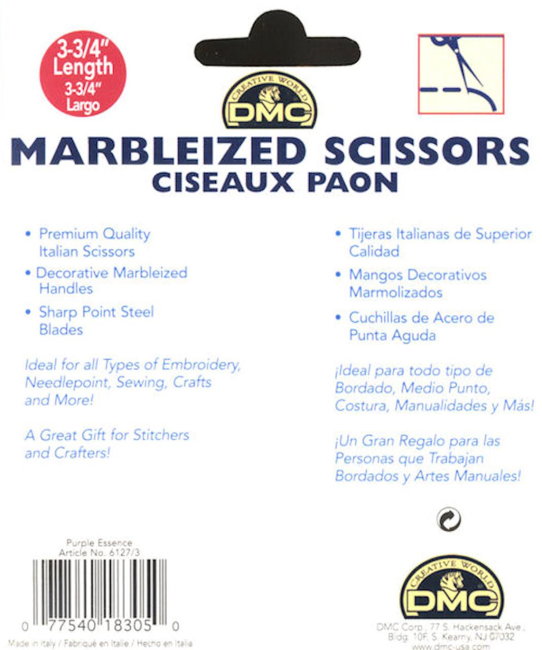 DMC - Purple Essence Marbleized Scissors