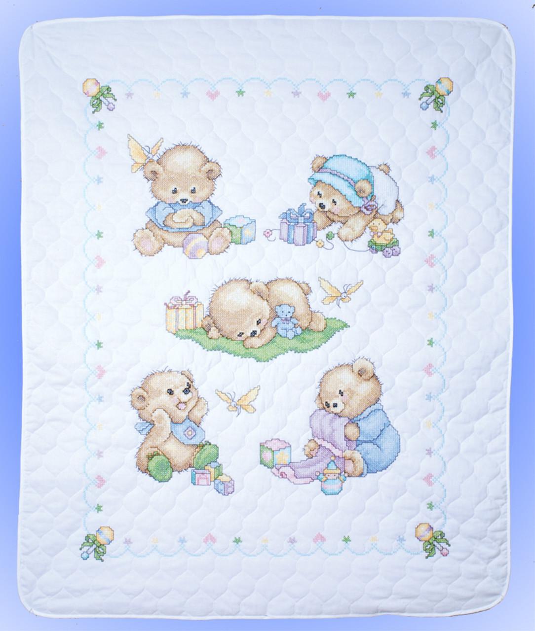 Design Works - Baby Bear Quilt