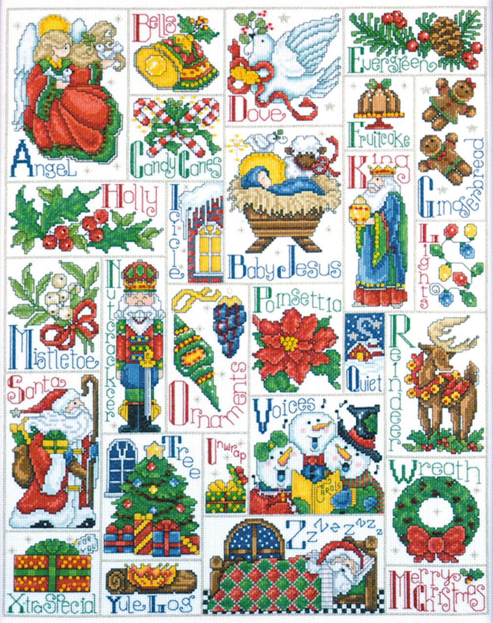 Stitching ABC Alphabet Cross Stitch Kit by Design Works