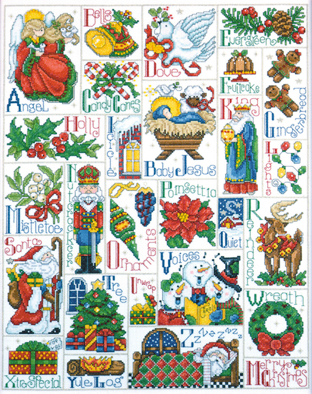 Design Works - Christmas ABC Sampler