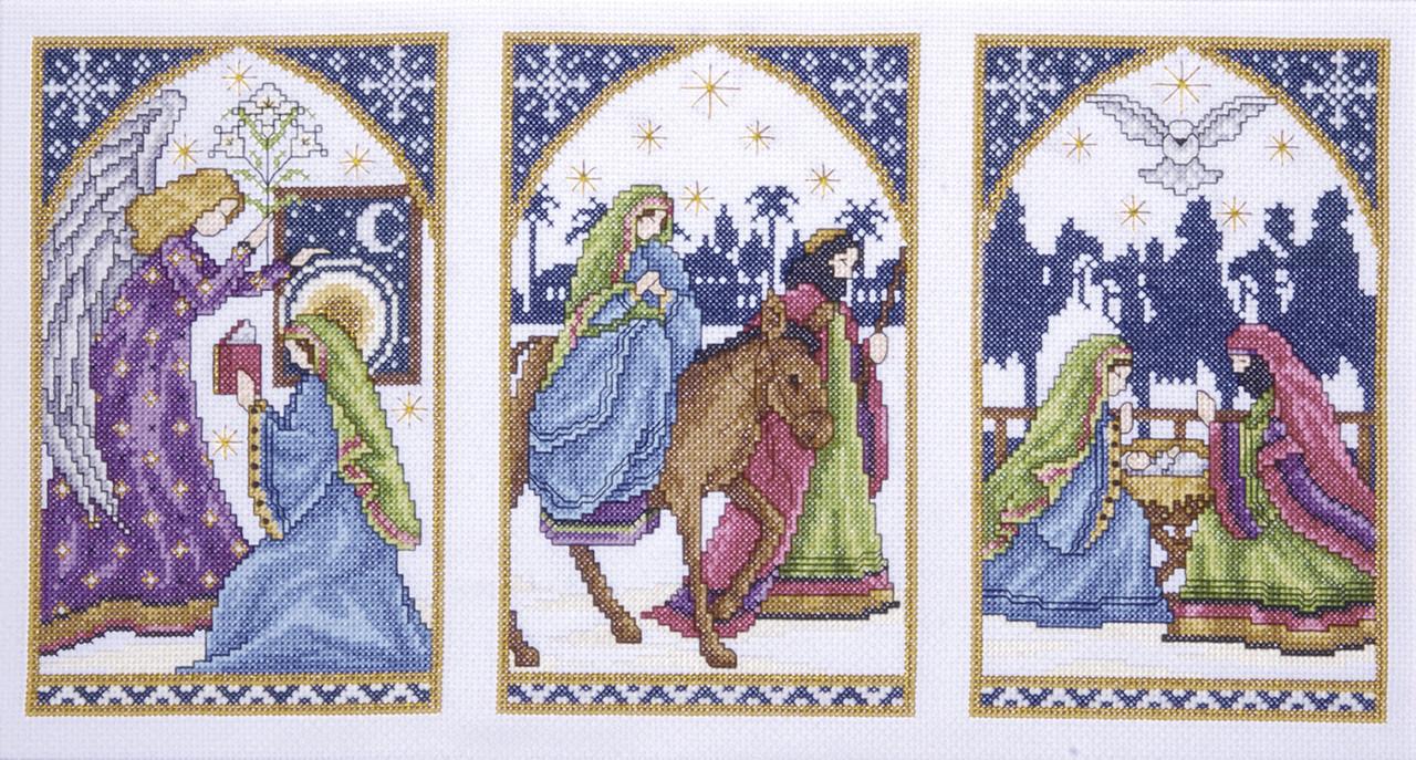 Design Works - Nativity Windows