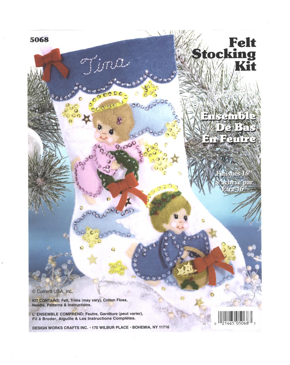 Design Works - Tiny Angels Stocking