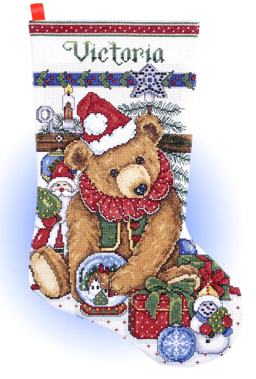 Design Works - Victorian Bear Stocking