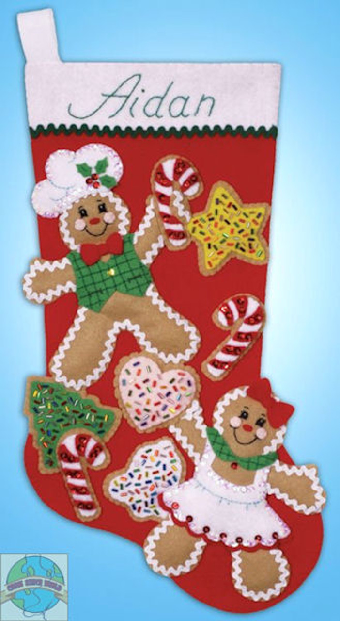 Design Works - Gingerbread Friends Stocking
