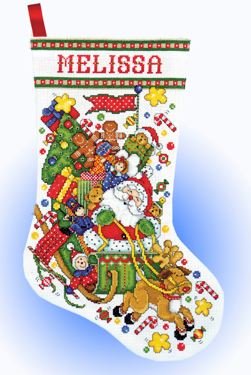 Design Works - Santa's Express Stocking