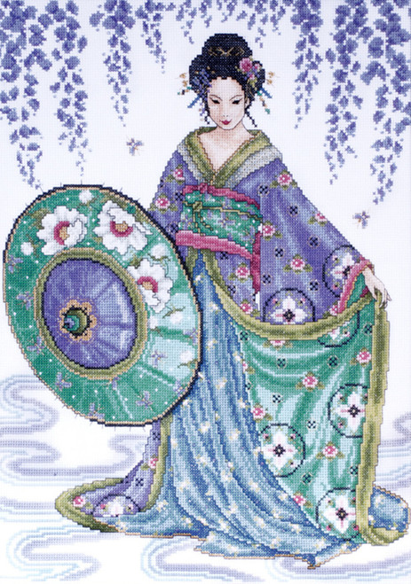 Design Works - Blue Geisha