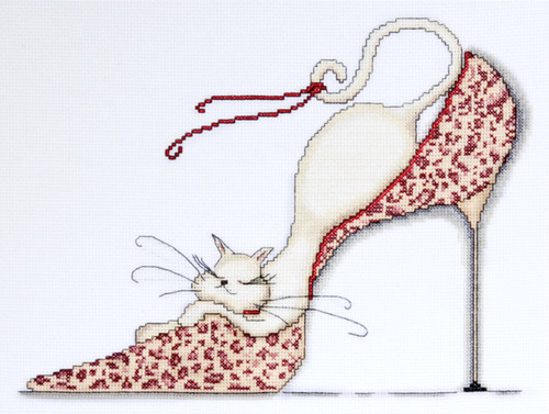 Design Works - Leopard Shoe Kitty
