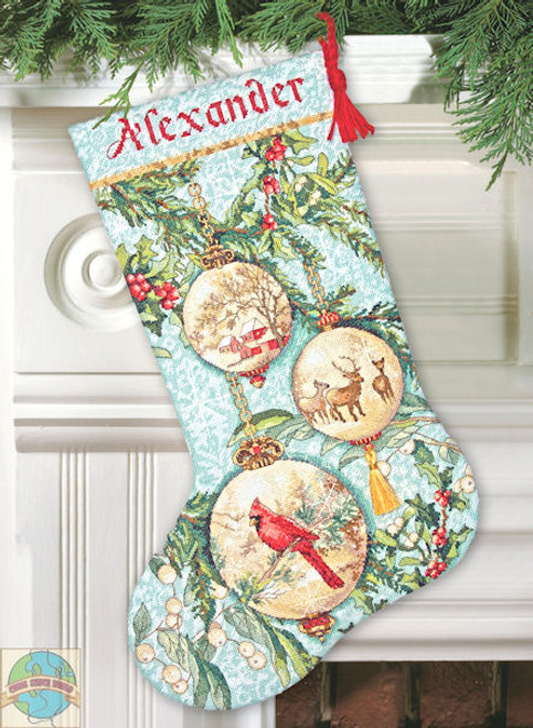 Dimensions - Enchanted Ornaments Stocking