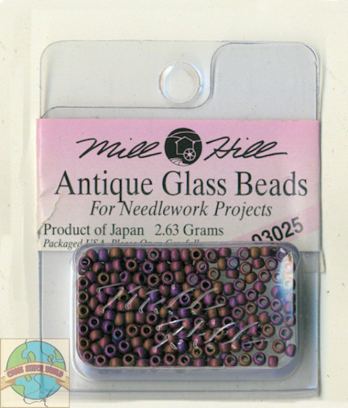 Mill Hill Antique Glass Beads 2.63g Wildberry #03025