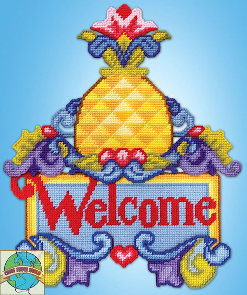 Design Works - Welcome Pineapple