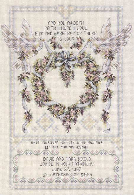 Janlynn Platinum Collection - Wedding Doves