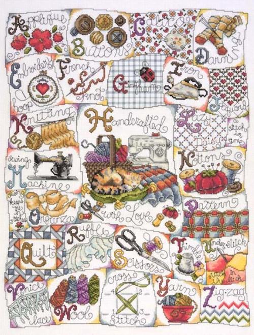 Design Works - Stitching ABC