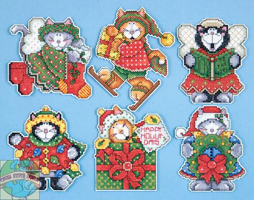 Design Works - Kitten Ornaments (6)