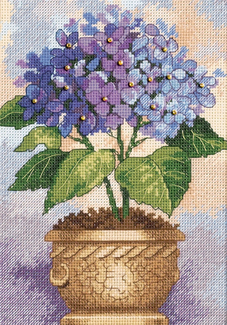 Dimensions Gold Collection - Hydrangea in Bloom