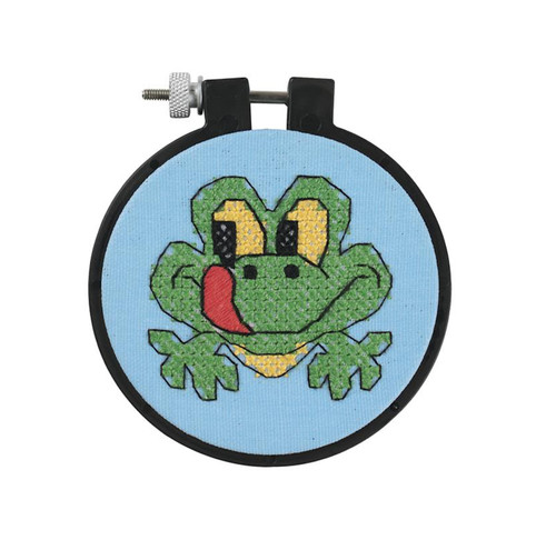 Dimensions Learn a Craft for Kids - Friendly Frog