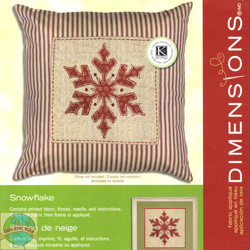 Dimensions -  Snowflake Picture / Pillow