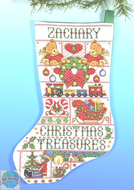 Design Works - Christmas Treasure Stocking