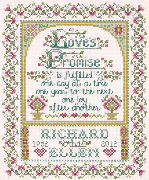 Design Works - Love's Promise Wedding Record
