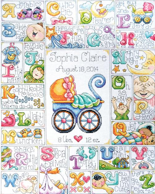 Design Works - Baby ABC