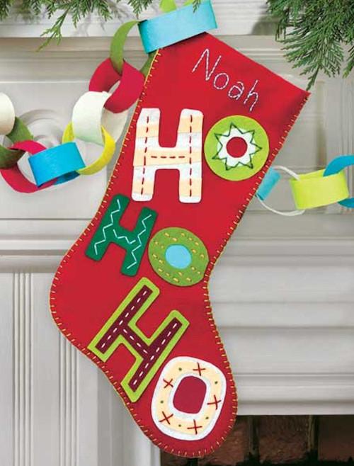 Dimensions - Ho Ho Ho Stocking