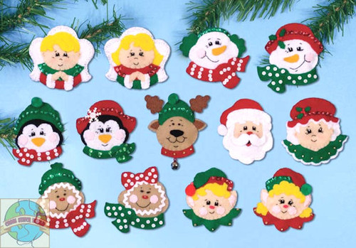 Design Works - 13 Faces of Joy Ornaments