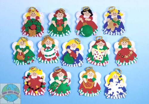 Design Works - Lotsa Angels Ornaments (13)