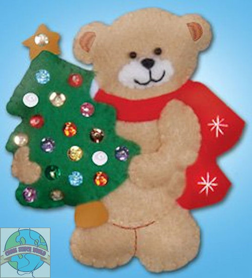Design Works - Bear and Tree Ornament