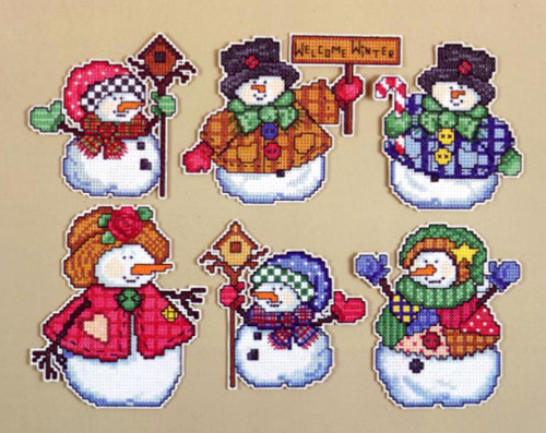 Design Works - Welcome Winter Ornaments (6)