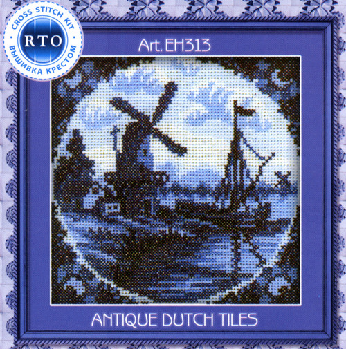 RTO Minis - Antique Dutch Tiles